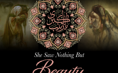 She Saw Nothing But Beauty